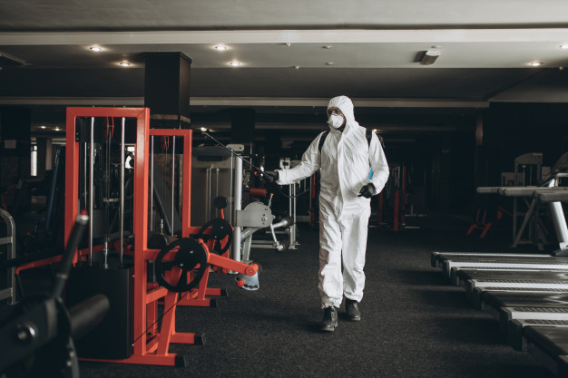 Number one Gym cleaning, pest control, disinfection agency in Trivandrum